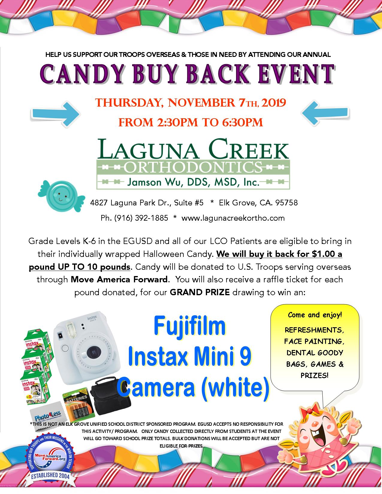 Candy Buy Back Event